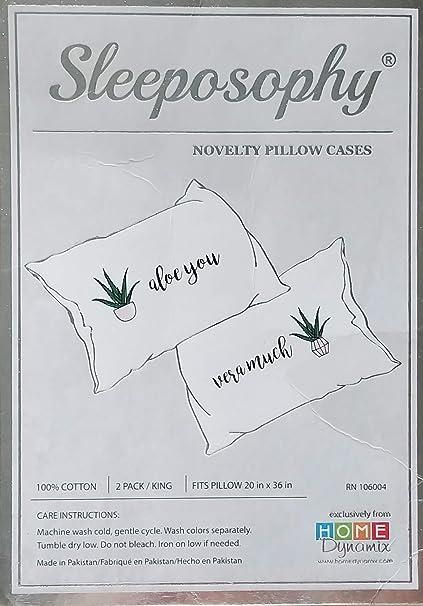 Amazon.com: Sleeposophy - Aloe You Very Much Love Romantic ...
