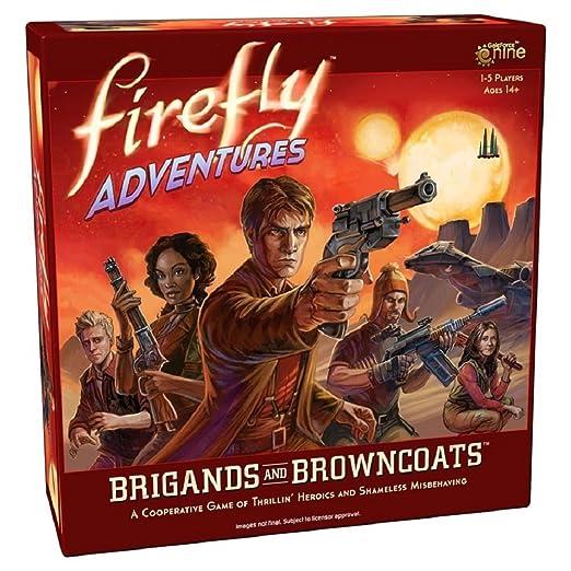 Gale Force Nine gf9fadv1 No Firefly Adventures: Brigands y browncoats, Juego: Amazon.es: Juguetes y juegos