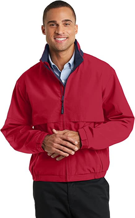 a1c438108d Port Authority Men s Legacy Jacket. J764 XS Red Dark Navy at Amazon ...