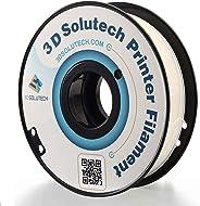 3D Solutech Natural Clear 1.75mm PETG 3D Printer Filament 2.2 LBS (1.0KG) - PETG175CLR