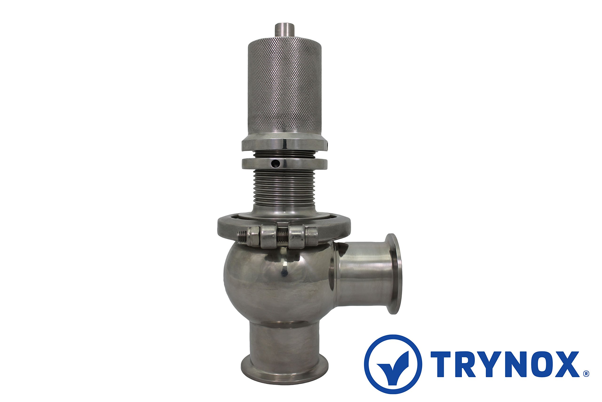 Trynox Clamp Sanitary Stainless Steel Relief Valve 316L 2'' Sanitary Fitting