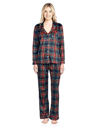 4094612a7 Ashford   Brooks Women s Long Sleeve Minky Micro Fleece Pajama Set ...