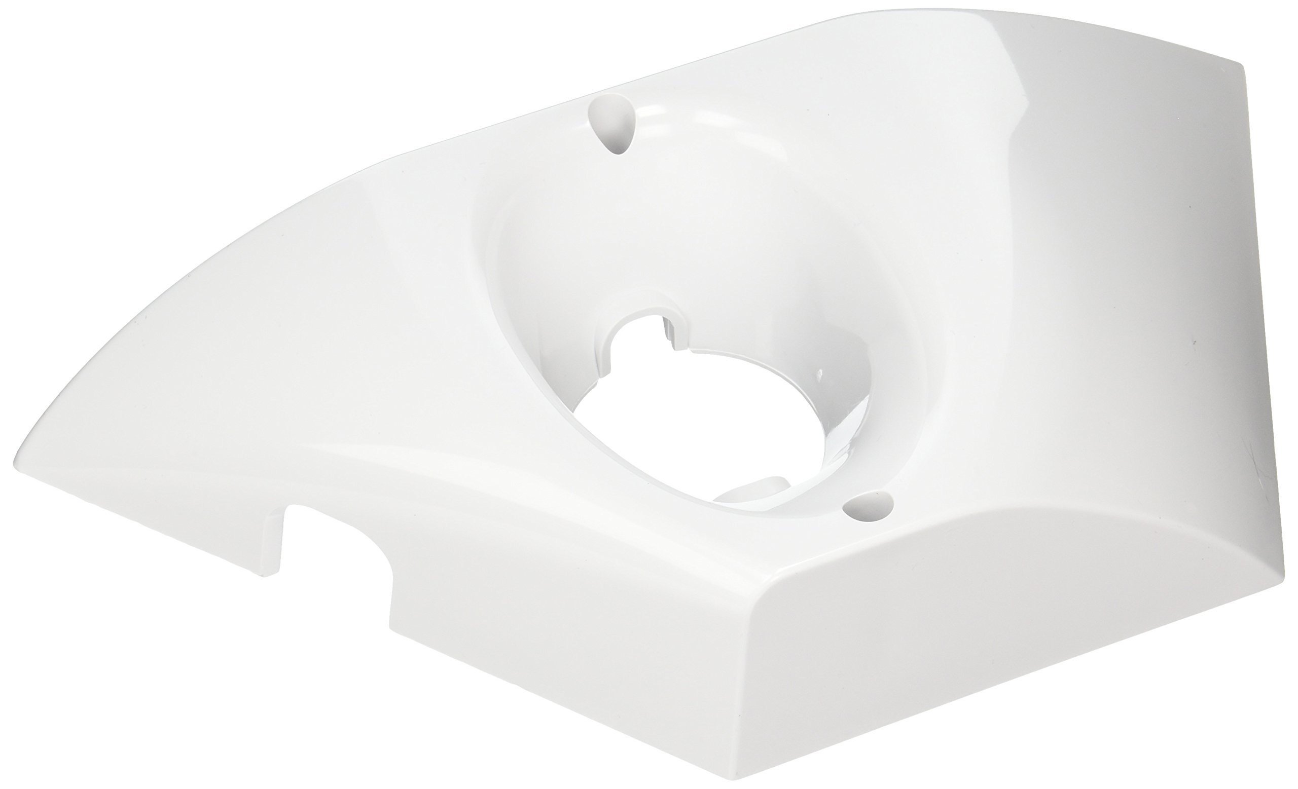 Zodiac K10 White Bottom with Bracket Replacement