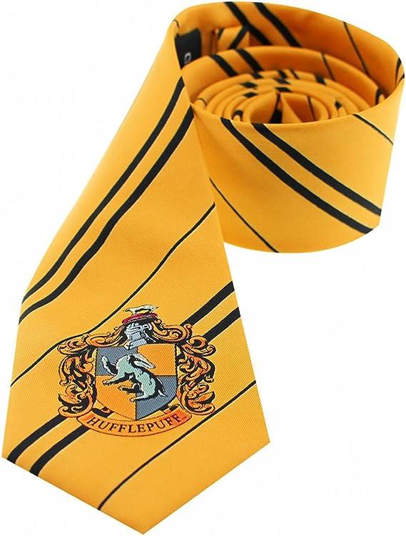 Harry Potter Fle Herradura Puff corbata con casa Escudo Disfraz ...