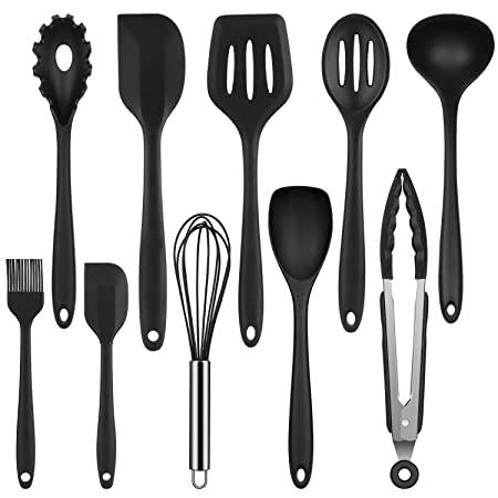 Mr Quality Kitchen Utensils Silicone Kitchen Utensils Non Stick
