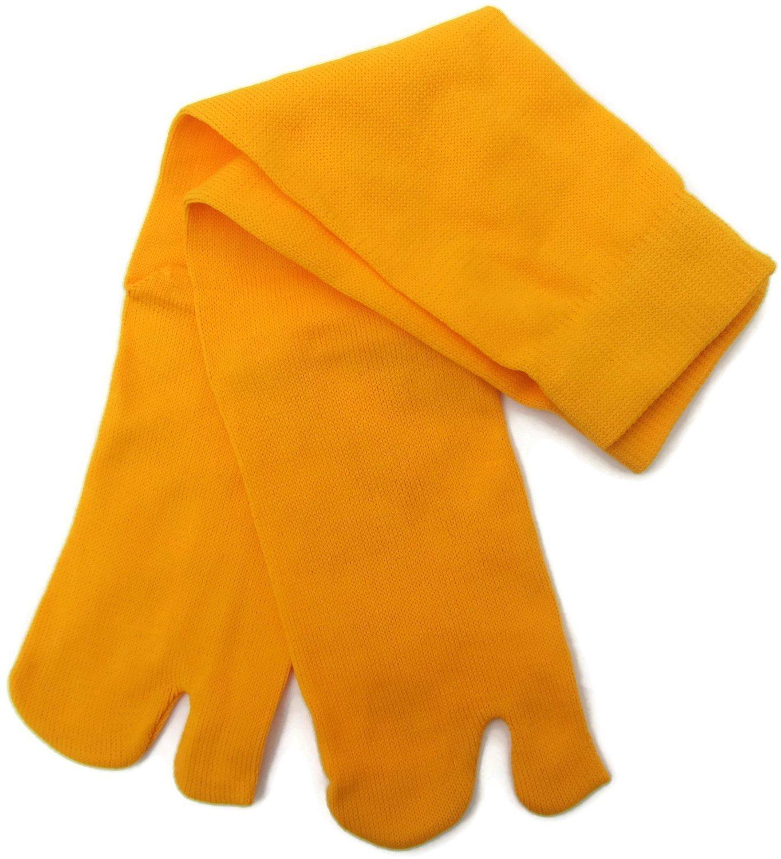 Amarillo Ninja Tabi Calcetines 1 tamaño Adulto Senior ...