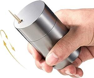 Super Strong Toothpick Holder Dispenser Storage Organizer SUS304 Stainless Steel (Matte)