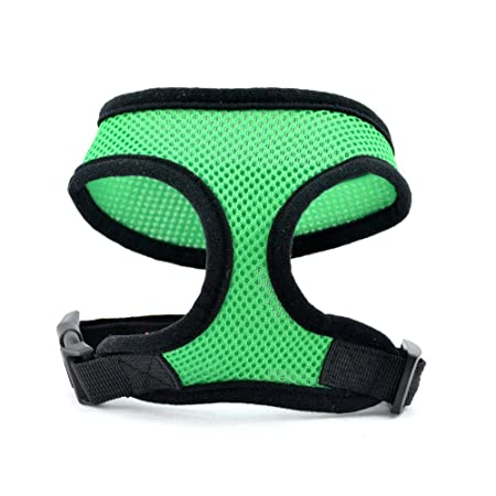SIO Fashion Soft Cozy Net Harness for Pet Dog with Multicolor ...
