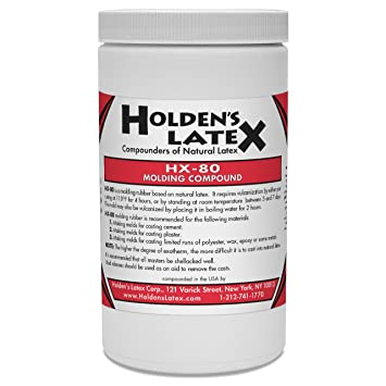 hx-80 Natural látex líquido Mold Making de goma, 1 L aprox.: Amazon.es: Hogar