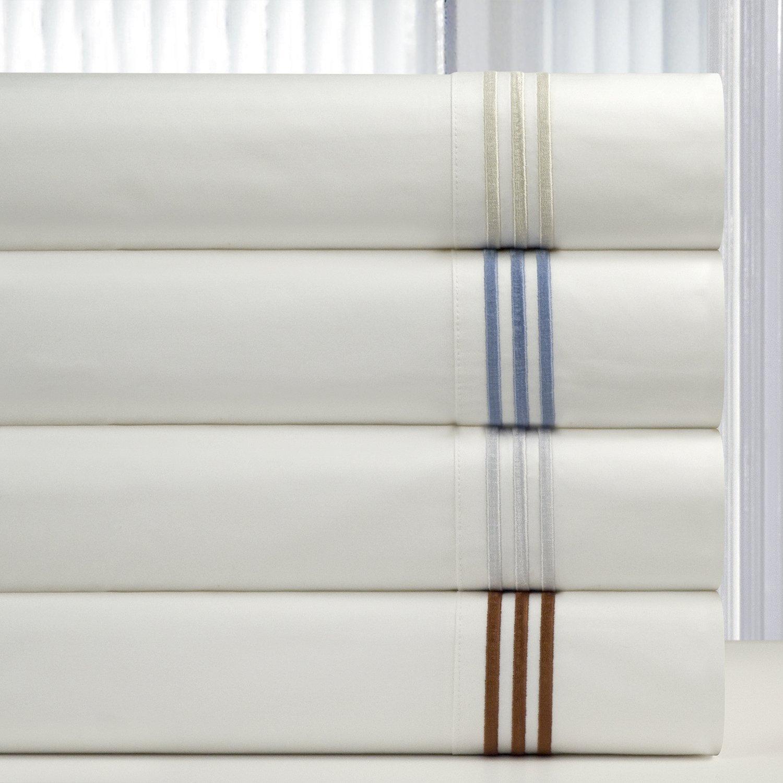 Pointehaven 300 Thread Count Embroidered Duvet Set Full//Queen Ivory Safah International Inc 300EDVT-FQIV