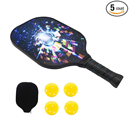 Amazon.com : NINESUN Graphite Pickleball Paddles | Composite ...