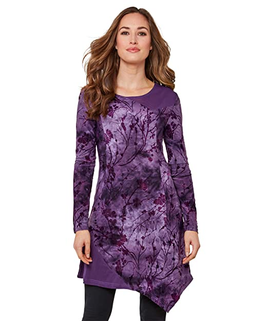 Joe Browns Womens Abstract Floral Print Wrap Style Tunic