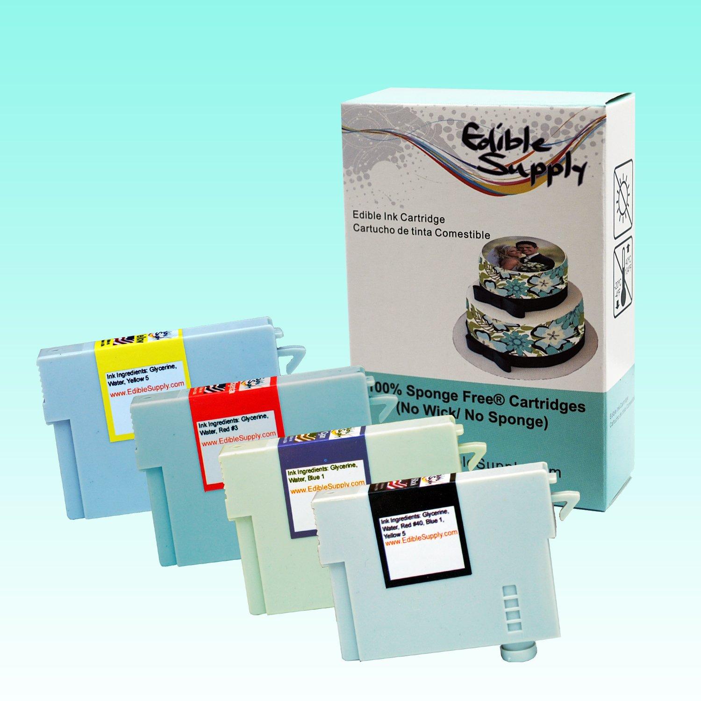 Epson All-In-One Printer with Sponge Free Edible Ink Cartridges / KopyKake Frosting Sheets