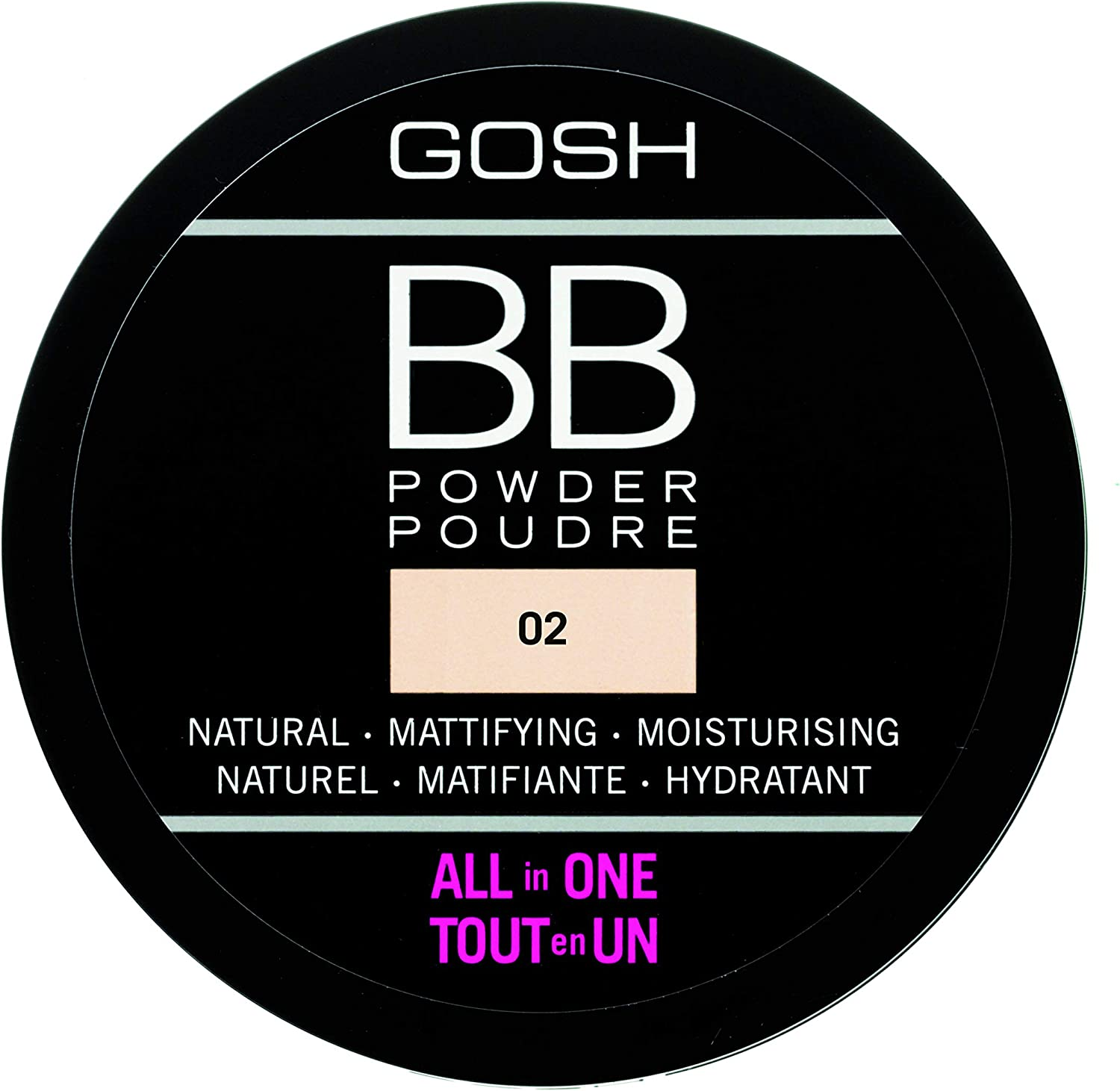 Gosh Copenhagen BB Powder 2