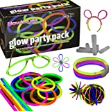 100 Glow Stick Party Pack - Premium Quality - Glowhouse UK Brand