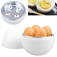 Kabalo Mikrowelle Eierkocher Poacher Frühstück Maker Küche Zubehör Werkzeug