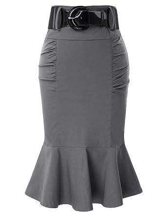 new product 0759c 342f2 Cintura Bella Donna Poque Vintage Anni '50 Elegante Gonna a Matita Formale  a Sirena GF627