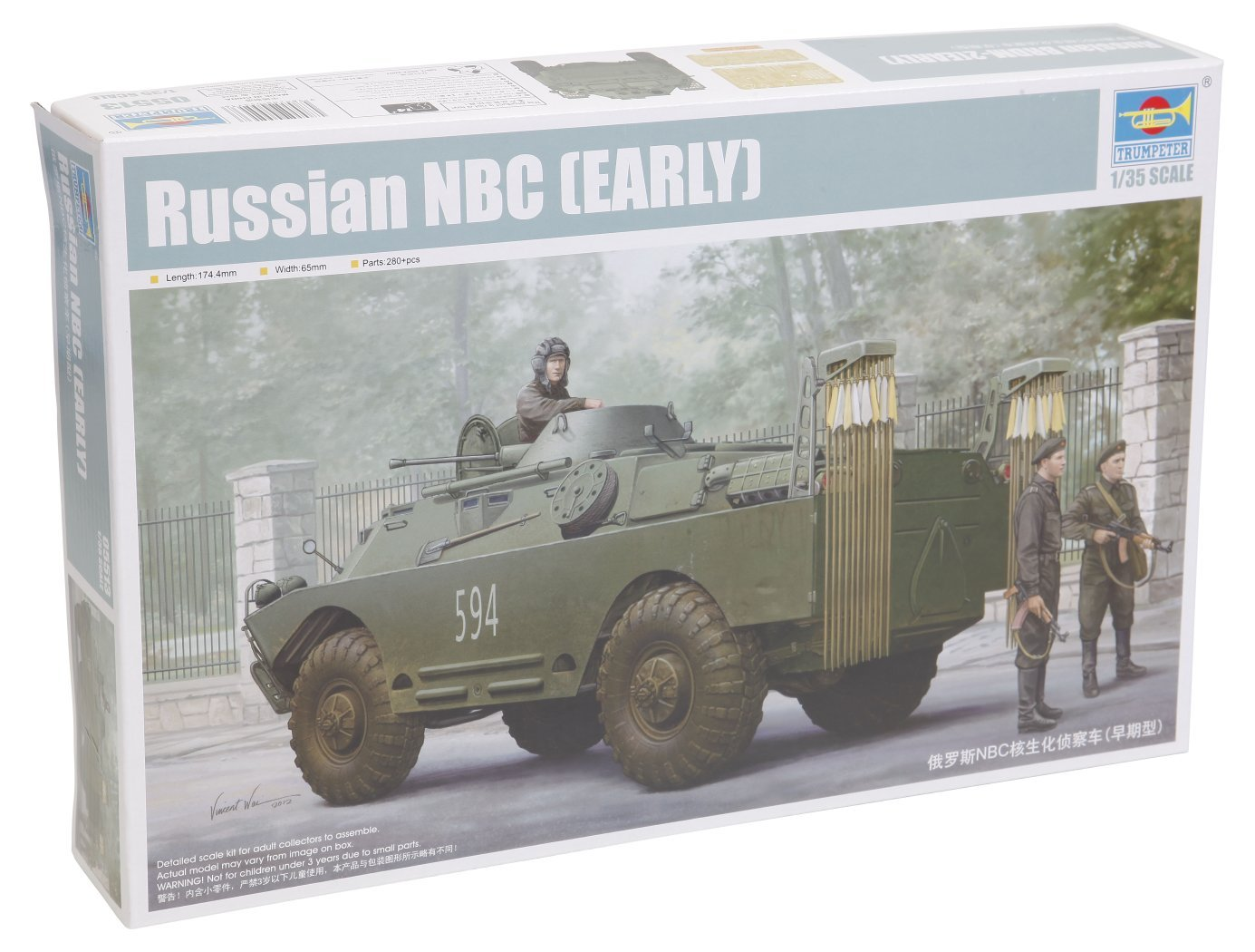 Trumpeter 05513 Kit Modelo NBC Ruso temprana