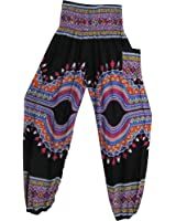 Indian Bohemian Gypsy Ethnic Dashiki Print Yoga Cotton Harem Pants