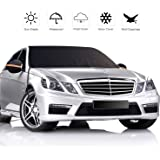 ZOYJITU Car Windshield Snow Cover with Side Mirror Covers