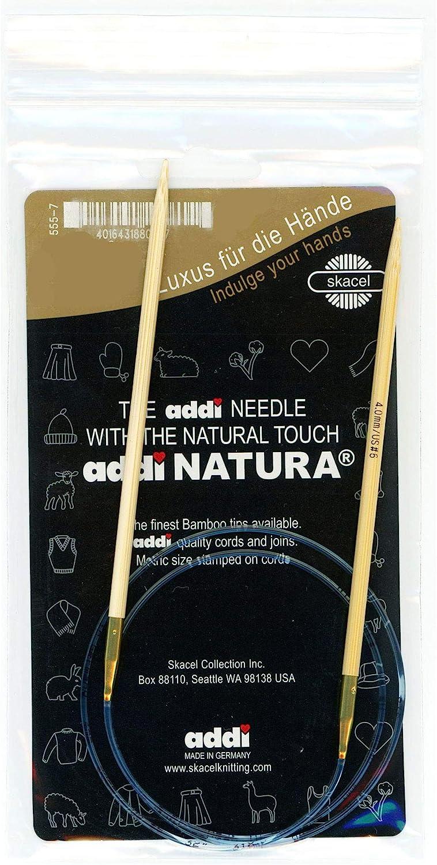 Addi Knitting Needle Turbo Circular Blue Cord 40 inch 100cm 2.5mm Size US 01