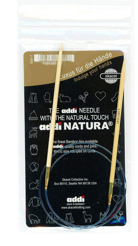 【ヨーロッパ版】addi ドイツ製 竹製輪針 長さ120cm 【コードの色:ゴールド】 (3.0mm) B0074O4X7G  3.0mm