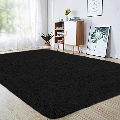 junovo Ultra Soft Area Rugs 6 x 9ft Fluffy Carpets