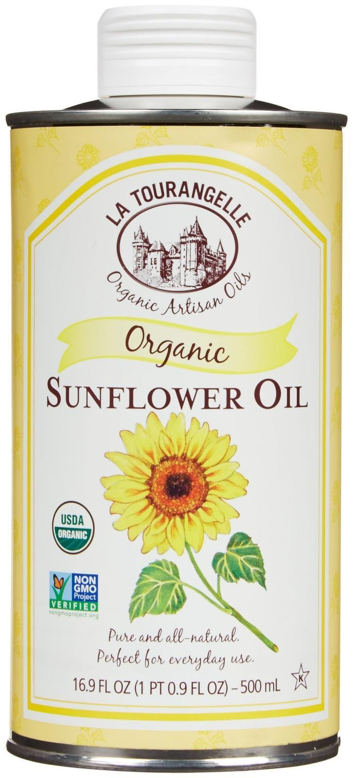 La Tourangelle Oil - 100% Organic Sunflower - 16.9 Ounces by La Tourangelle