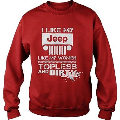 bamaproud i like my jeep like women topless dirty christmas sweater s jeep - Dirty Christmas Sweater