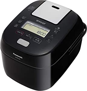 "Panasonic Steam & Variable Pressure IH Jar Rice Cooker (1.0L)""Wおどり炊き (W ODORI DAKI)"" SR-SPA109-K (BLACK)【Japan Domestic Genuine Products】【Ships from Japan】"