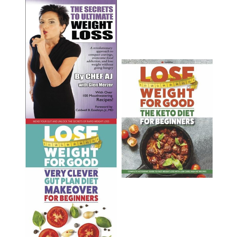 Secrets to ultimate weight loss, lose weight for good very clever gut diet and keto diet for beginners 3 books collection set pdf epub