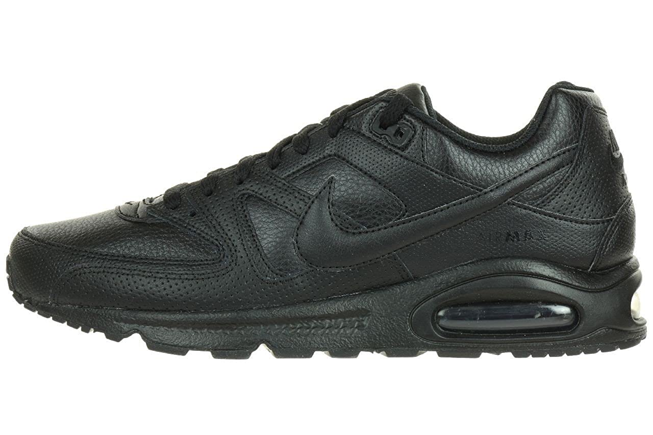 more photos 74c58 6481e Nike Air Max Command Leather 409998, Homme Chaussures De Sport 38,5 Noir   Amazon.fr  Chaussures et Sacs