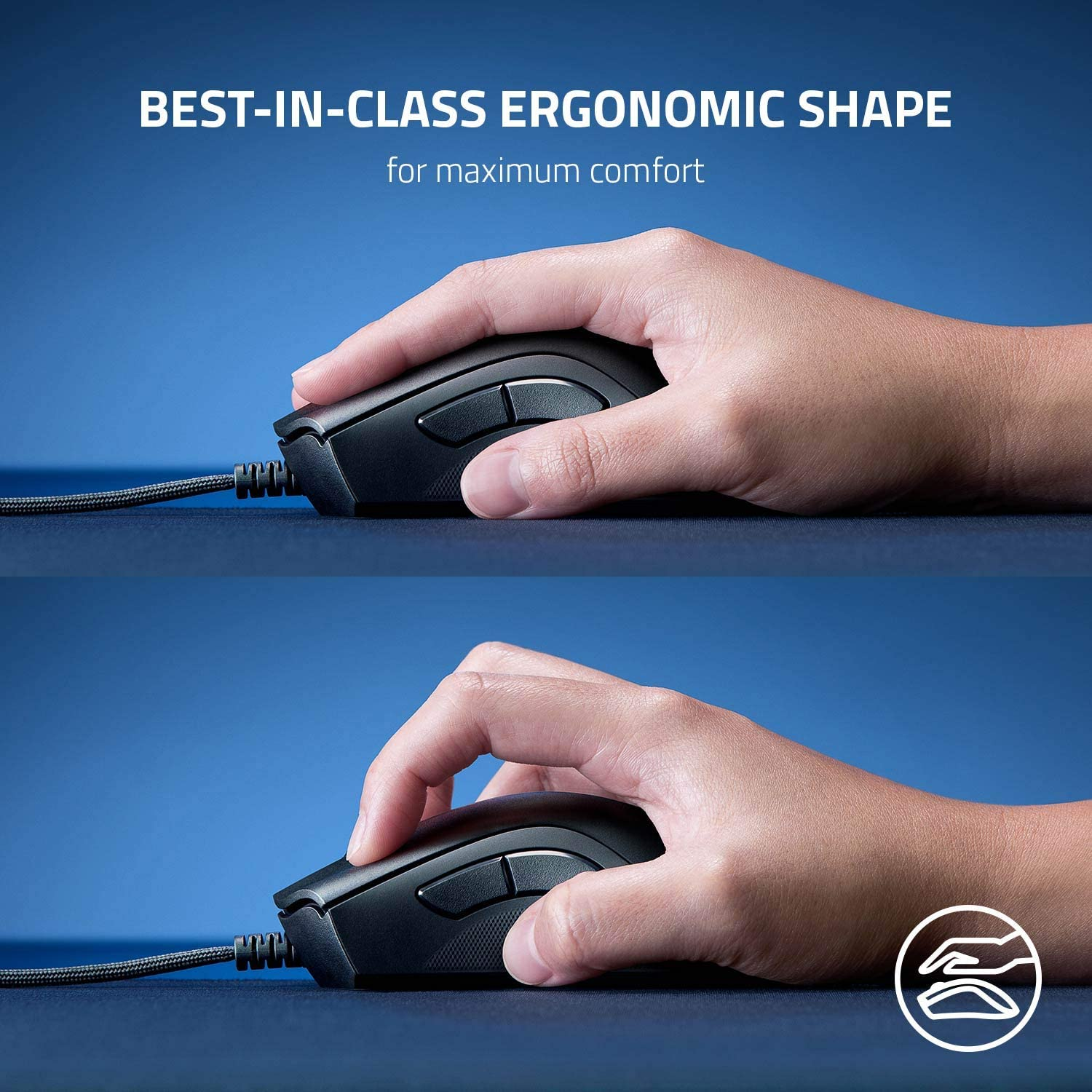 Razer DeathAdder V2 Wired Gaming Mouse with Best-in-class Ergonomics 7