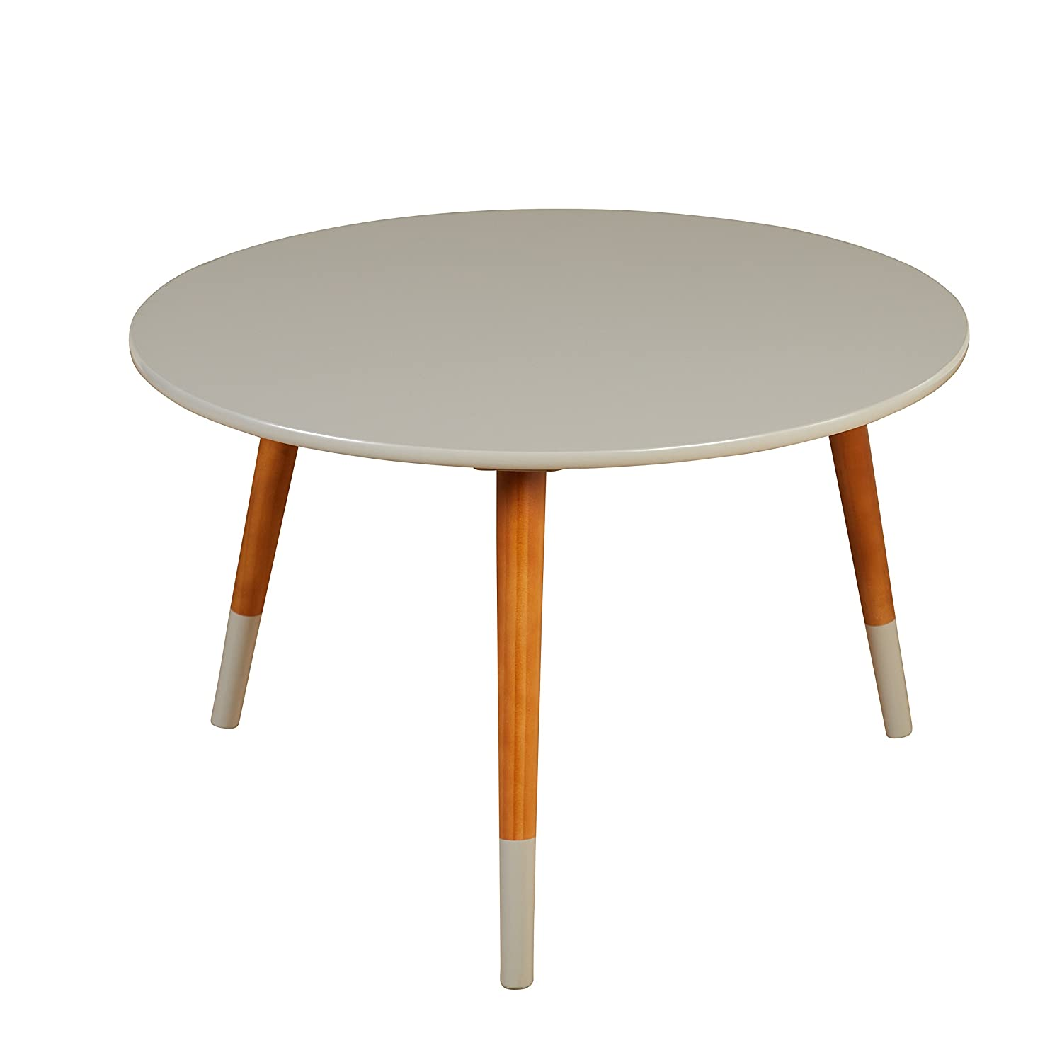 Magnificent Target Marketing Systems Livia Collection Ultra Modern Round Coffee Table With Splayed Leg Finish Gray Wood Inzonedesignstudio Interior Chair Design Inzonedesignstudiocom