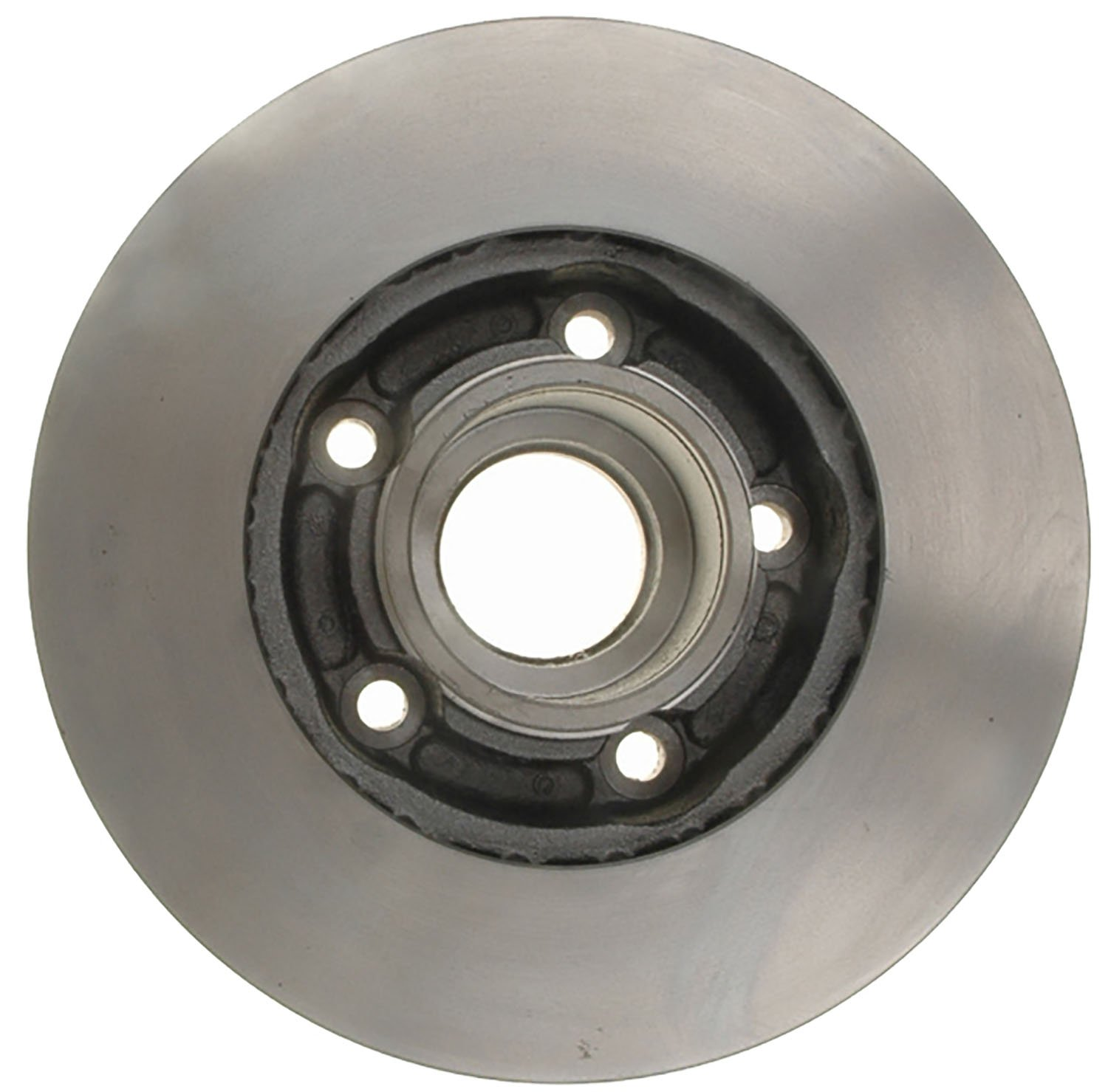 ACDelco 18A381A Advantage Non-Coated Front Disc Brake Rotor and Hub Assembly