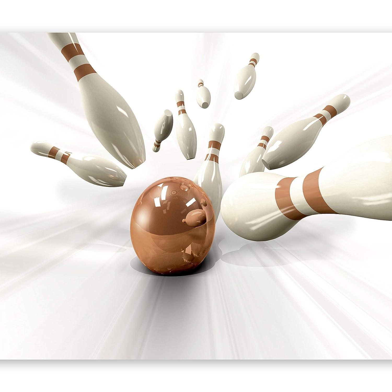 Murando - Fototapete 350x256 cm - Vlies Tapete - Moderne Wanddeko - Design Tapete - Wandtapete - Wand Dekoration - Bowling Unterhaltung Spiel i-B-0009-a-b