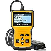 MOTOPOWER MP69033 OBD2 Scanner Universele Motor Fault Codelezer, KAN Kenmerkend Scanhulpmiddel voor Al OBD II…