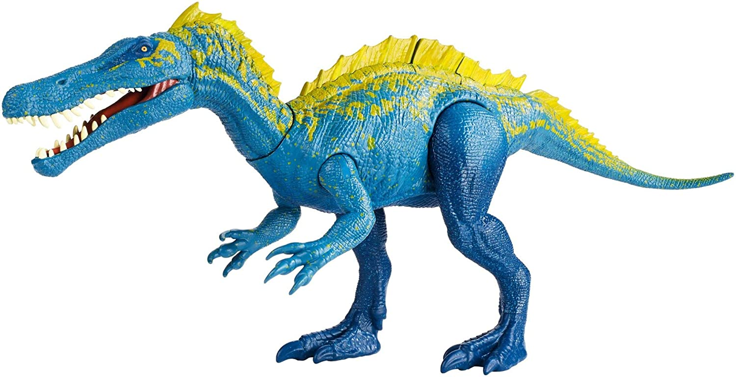 Jurassic World Action Attack Suchomimus Figure Mattel FVJ94