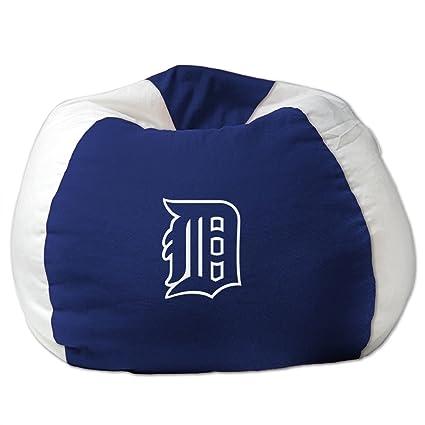 Astounding Northwest Enterprises Mlb Bean Bag Chair Mlb Team Detroit Tigers Pabps2019 Chair Design Images Pabps2019Com