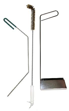 Serv-Ware juego de 3 herramientas de limpieza para freidora ...