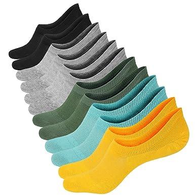 6 Pairs Cotton Low Cut Liner Socks Women - Non Slip No Show Sneaker Socks  for 28f3de1dc