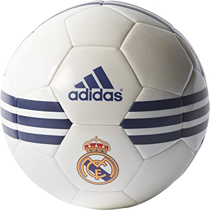 adidas Real Madrid Balón de Fútbol, Hombre, Multicolor, 5: Amazon ...