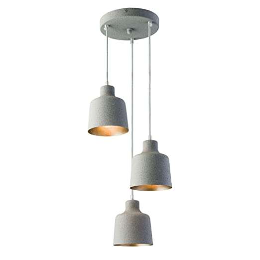 Endon Lighting 61025 Holden Triple Ceiling Pendant Light in Grey Granite Finish  sc 1 st  Amazon UK & Endon Lighting 61025 Holden Triple Ceiling Pendant Light in Grey ...
