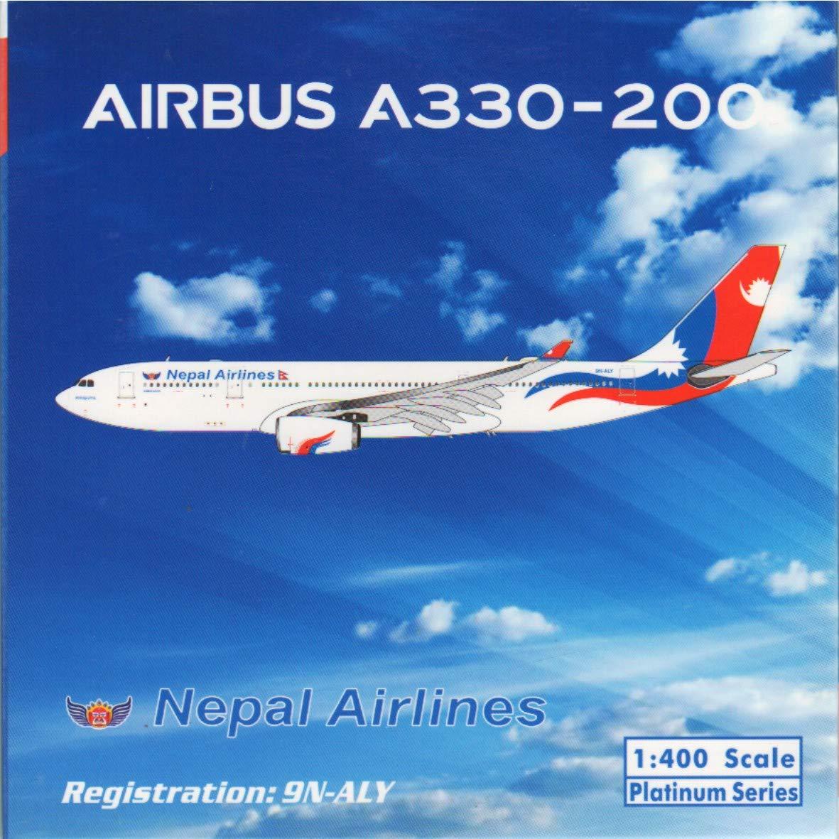 気質アップ フェニックスモデル PHX11485 1:400 ネパール航空 Reg エアバス A330-200 Reg A330-200 #9N-ALY 1:400 (塗装済み/組み立て済み) B07KF1NJJY, ムレムラ:47d3cfb4 --- wap.milksoft.com.br