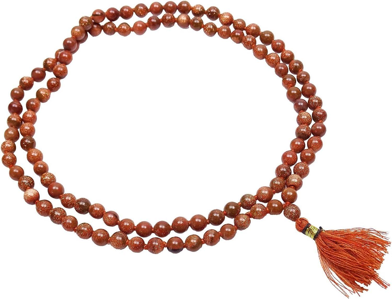 La oración tradicional de la piedra preciosa Chakra Japa Mala Rosario Meditación Reiki