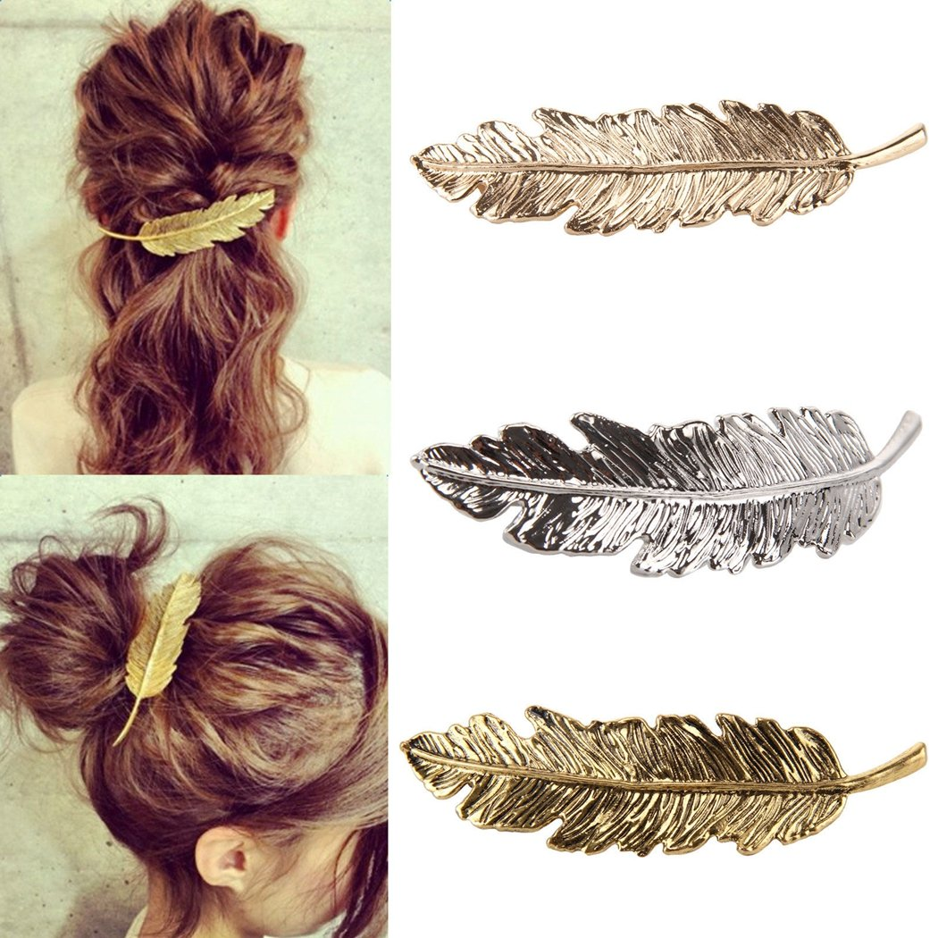Fashion Jewelry Hair & Head Jewelry Wing French Barrette Hair Clip
