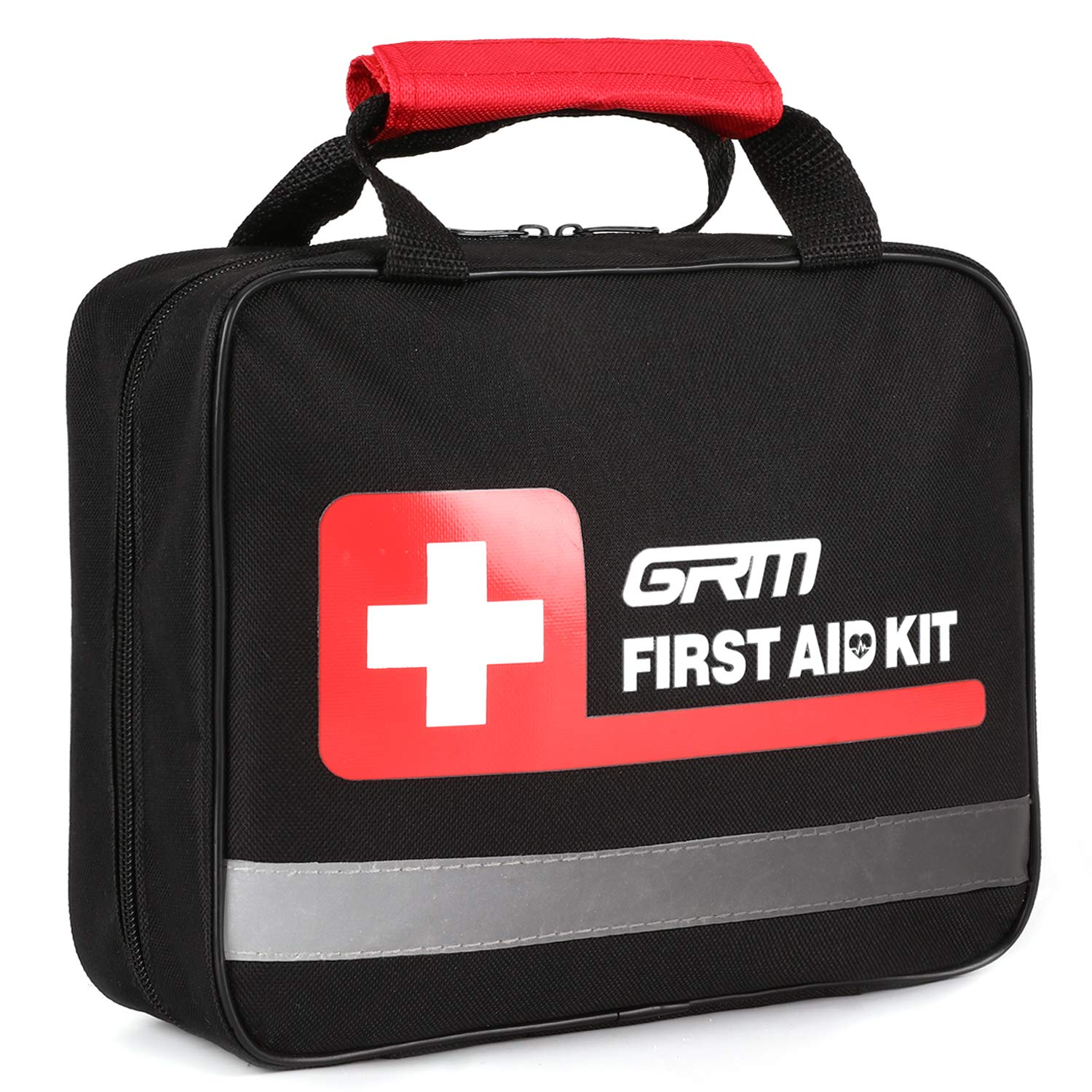 GRM Upgraded 465 Pieces First Aid Kit for Businesses Emergency at Home, Office, Outdoors, Car, Camping, Workplace…