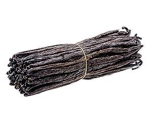 Madagascar Vanilla Beans - Extract Grade B Vanilla Pods - Bourbon Vanilla Planifolia from Madagascar for Cooking, Baking, and Vanilla Extract (.25lb/4oz. Whole Vanilla Beans)