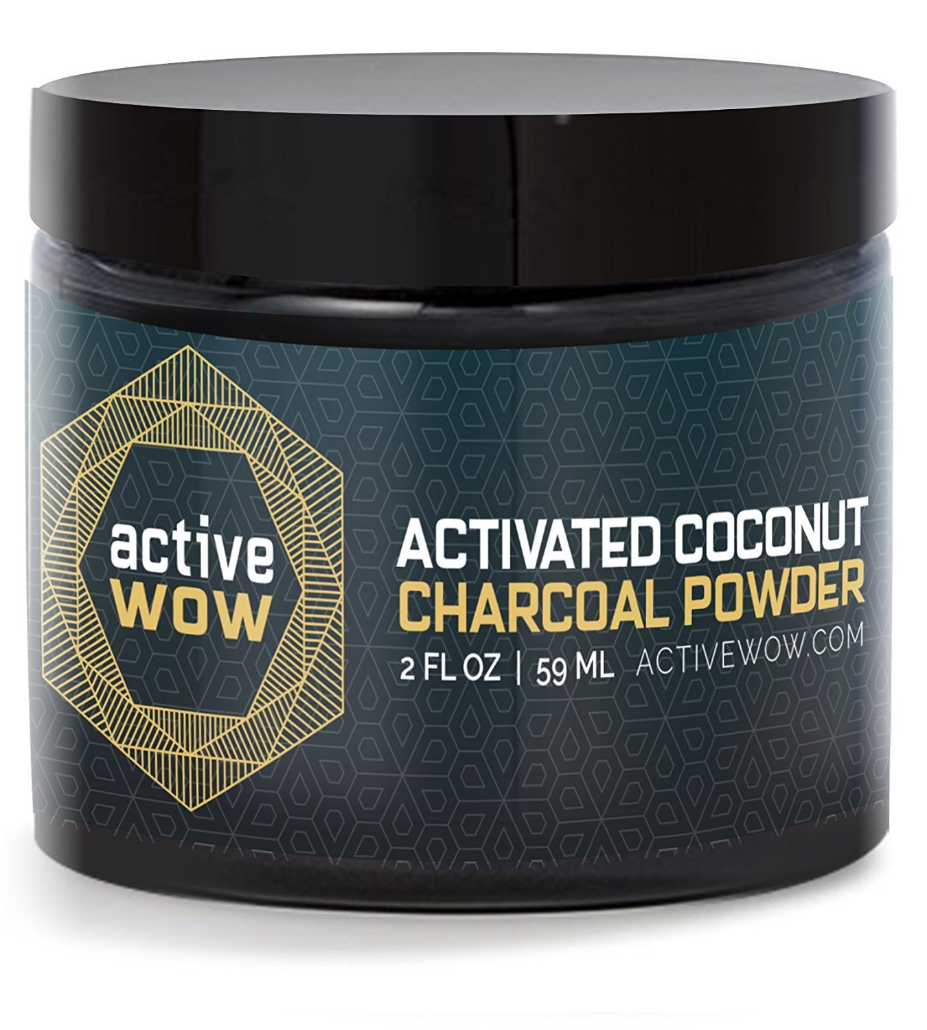 Active Wow Teeth Whitening Charcoal Powder Natural AW_CPNTW