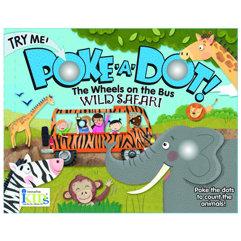 Amazon.com: The Wheels on the Bus: Wild Safari (Poke-A-Dot ...